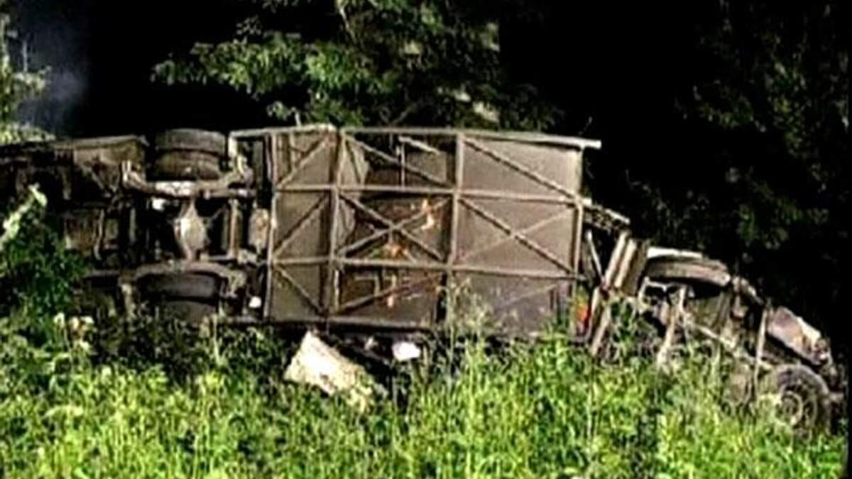 Детали страшной аварии автобуса на юге Италии