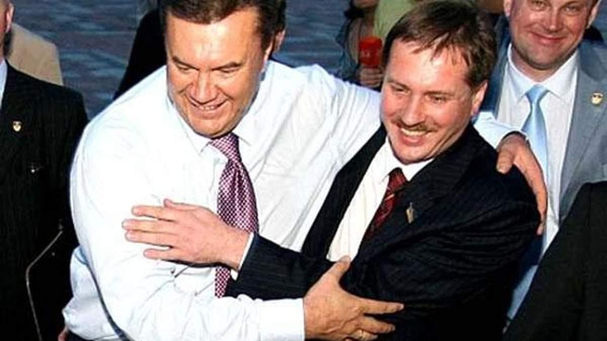 Тарас Чорновіл з Віктором Януковичем