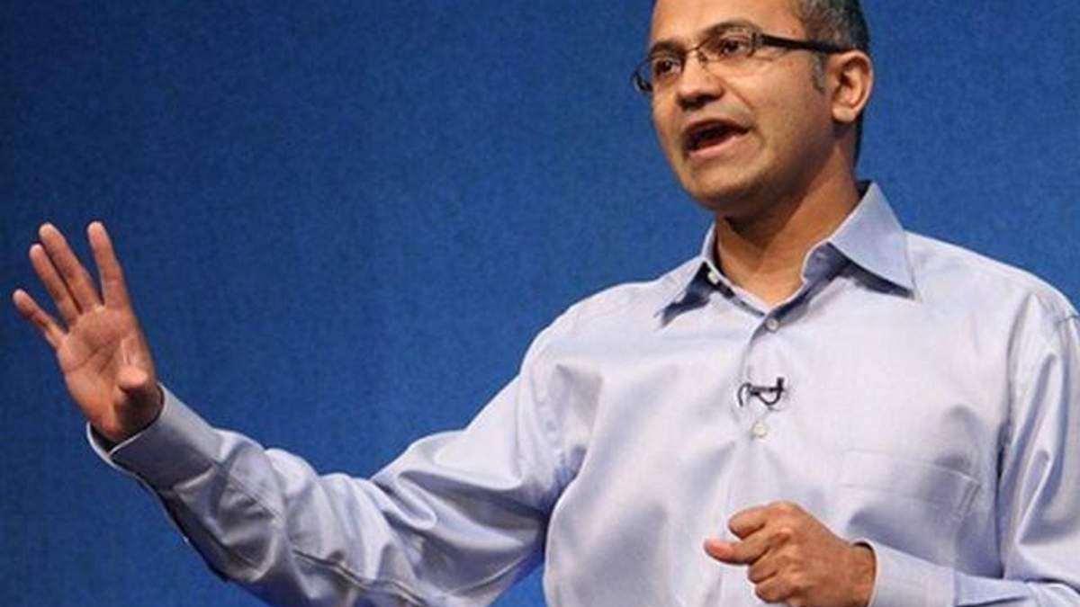 Зайняти пост глави Microsoft претендує індієць Сатья Наделла