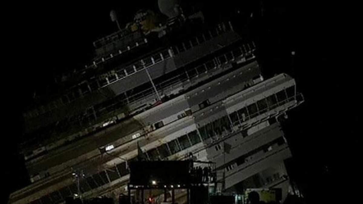 В Італії будуть шукати тіла пасажирів Costa Concordia