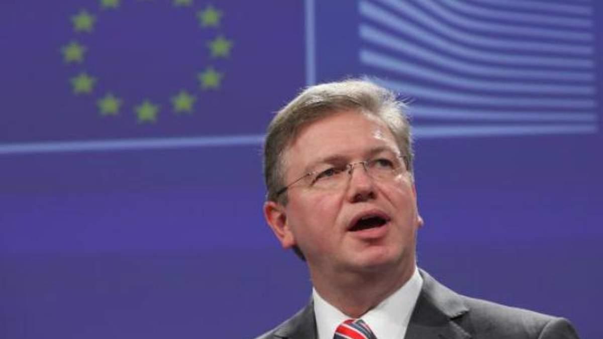 Україні варто вирішити ще кілька питань на шляху підписання угоди з ЄС, - Фюле