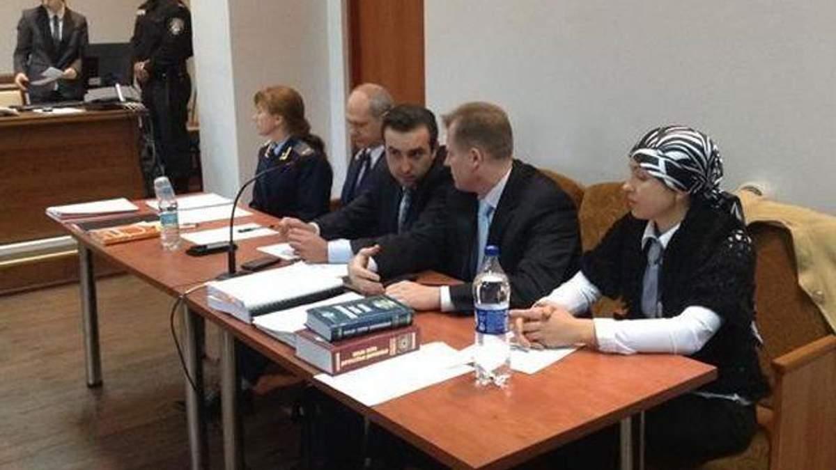 Ірина Крашкова у суді