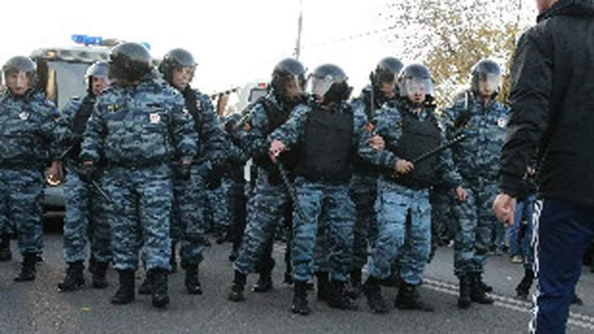 У Москві націоналісти влаштували рейд на мігрантів
