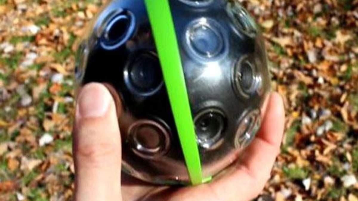 Камера-м'яч, новий смартфон від Motorola, відео про еволюцію Марса