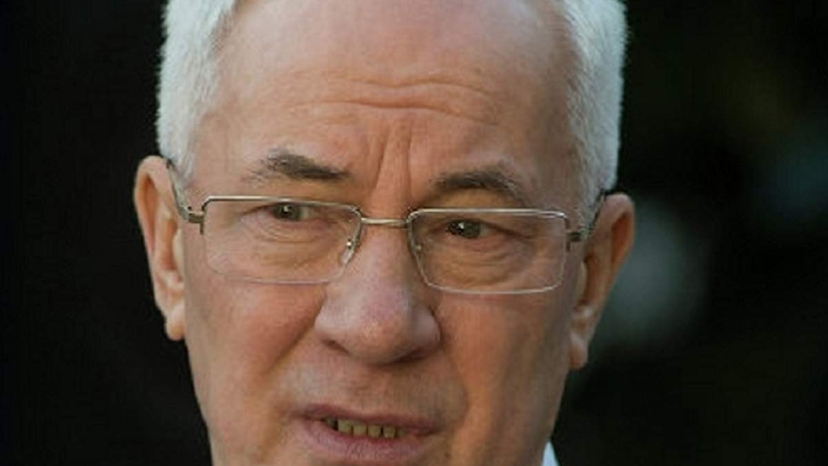 Я не бачу ніякої трагедії, — Азаров про відмову від асоціації