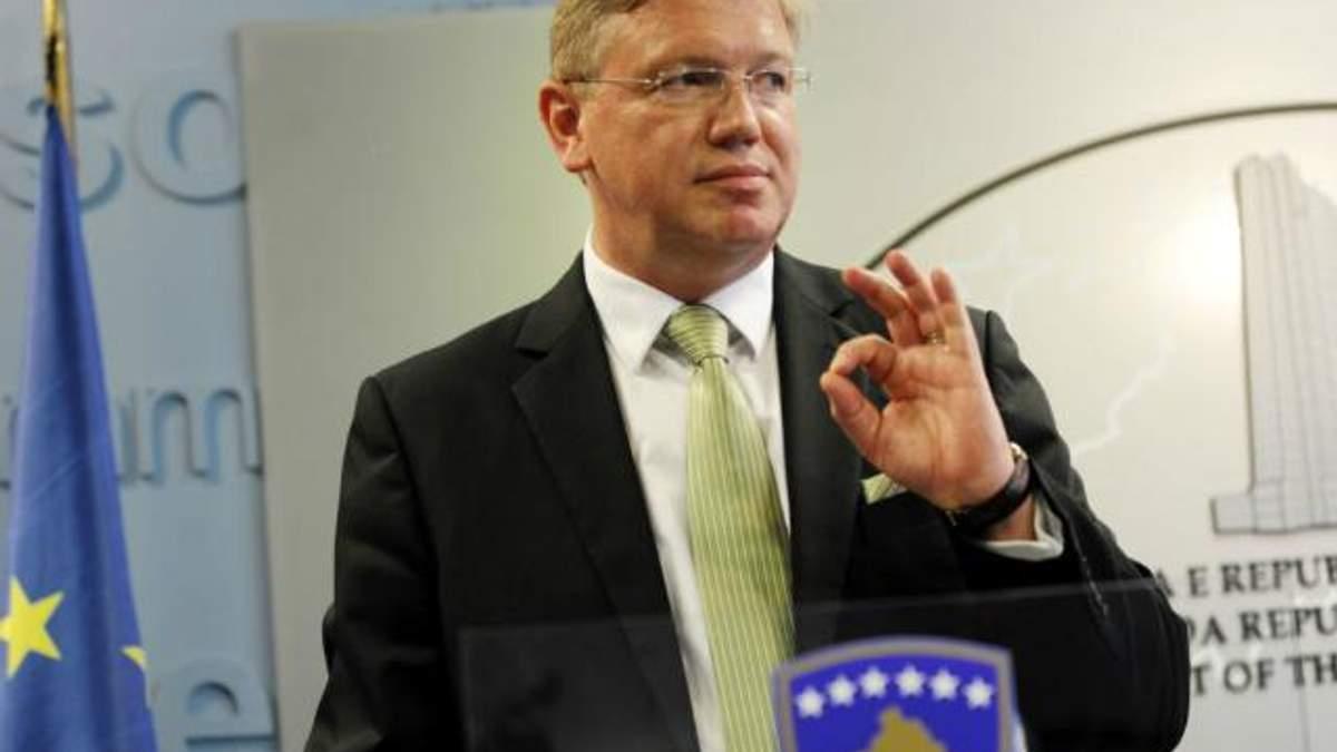 Угоду з ЄС Україна може ще підписати за кілька місяців, – Фюле
