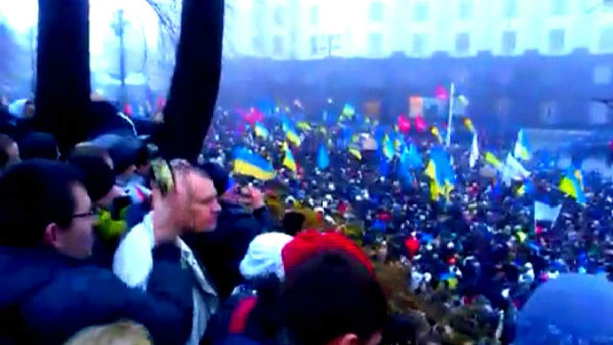 Інтернет-користувачі поширюють ідеї Євромайдану в мережі