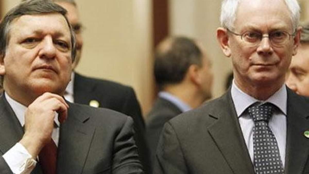 ЄС не буде застосовувати силу щодо України, - Баррозу і Ромпей