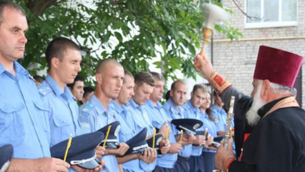 Церковь хочет повысить нравственность милиции