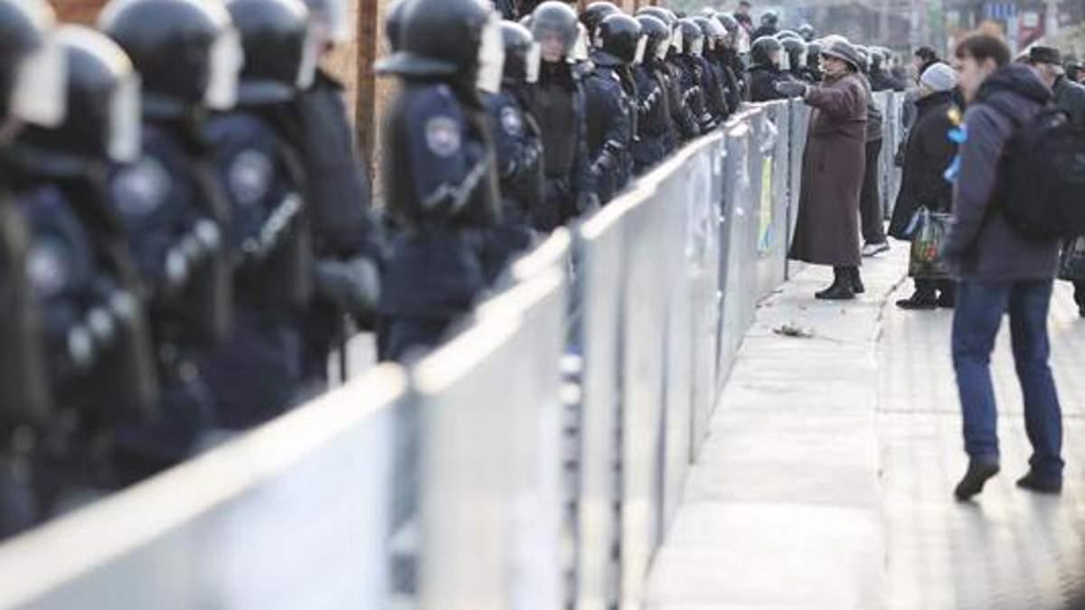"""На Майдані Незалежності збираються """"тітушки"""", — активісти"""