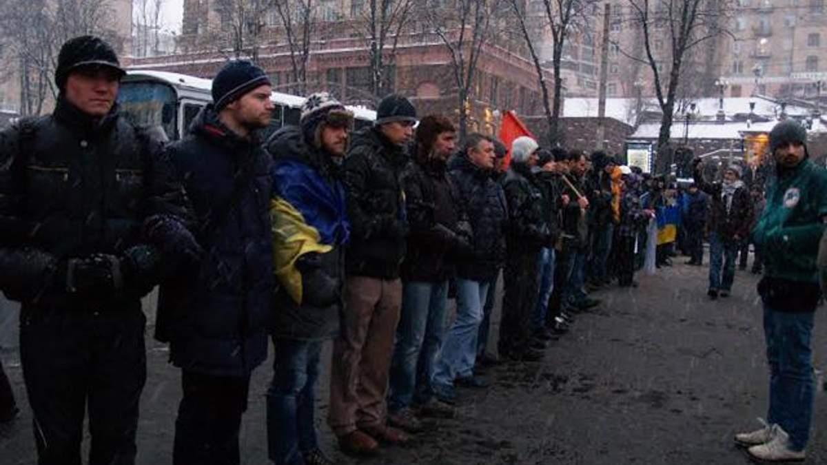 Мітингувальники розблокували станції метро поблизу Майдану