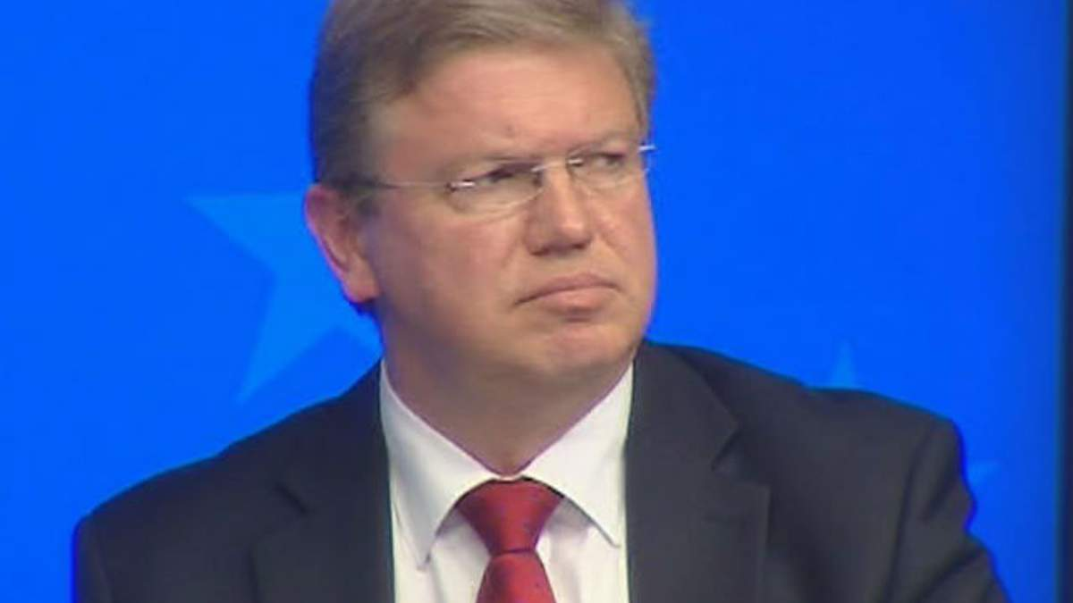 ЄС готовий обговорювати з Україною посилення фіндопомоги, - Фюле