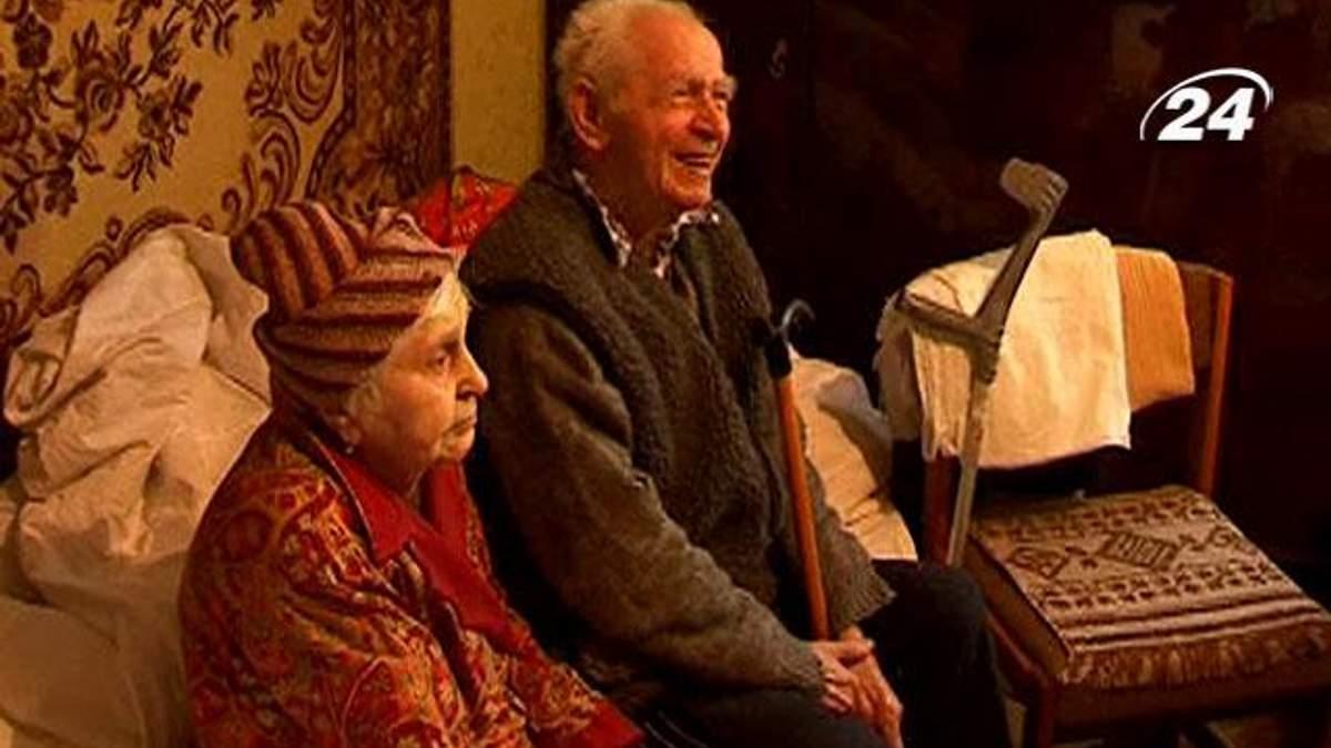 Подружжя пенсіонерів-меценатів Майдану привітали зі святом Миколая