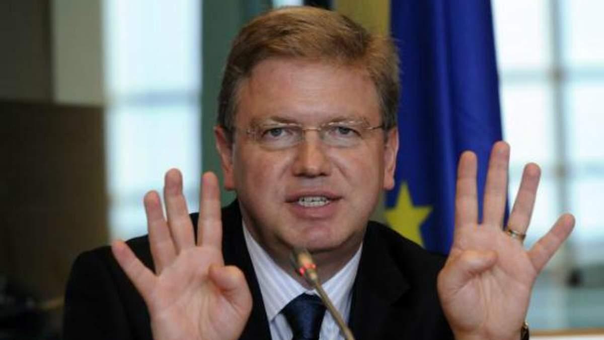Совет Европы будет контролировать расследование избиения активистов Евромайдана, - Фюле