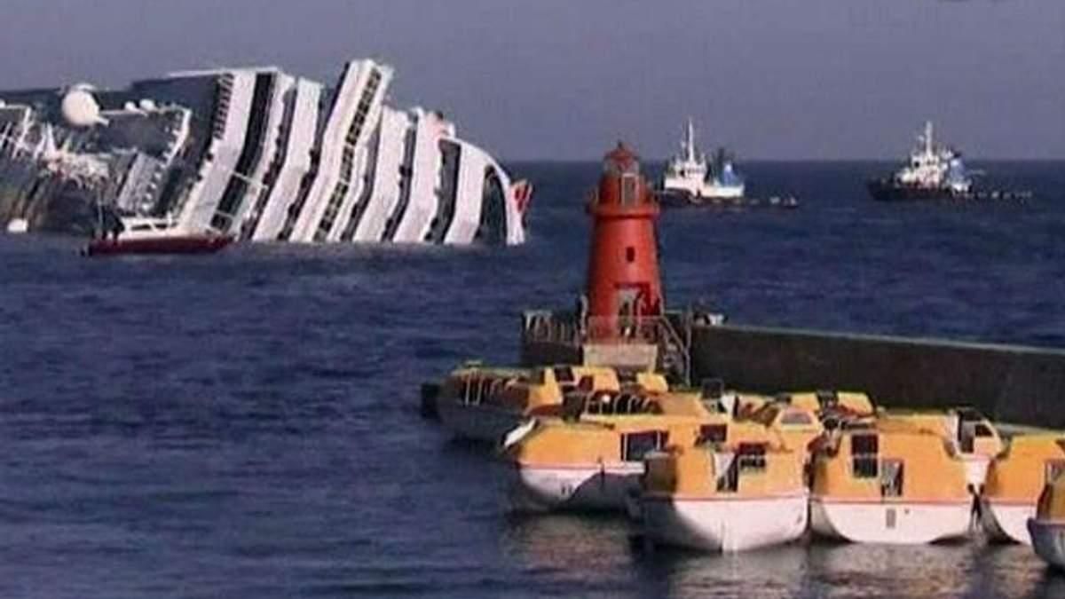 Лайнер Costa Concordia отбуксирован в июне 2014 года, - заявление