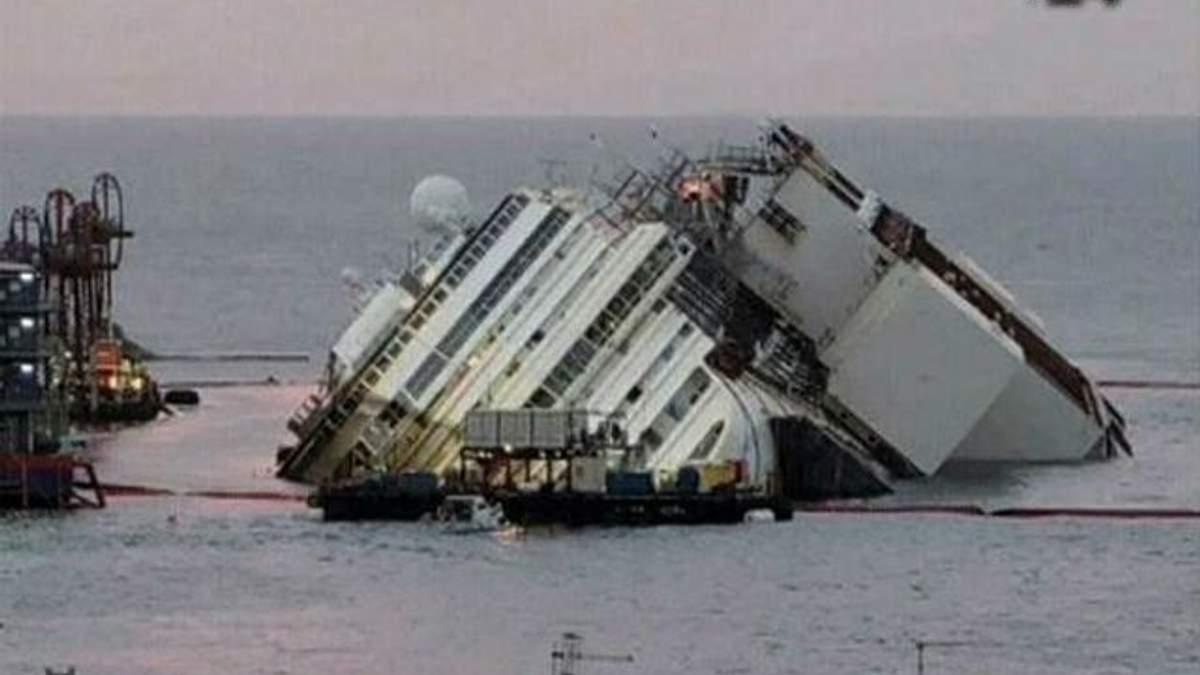Утилізація лайнера Costa Concordia коштує $300 мільйонів, – фахівці