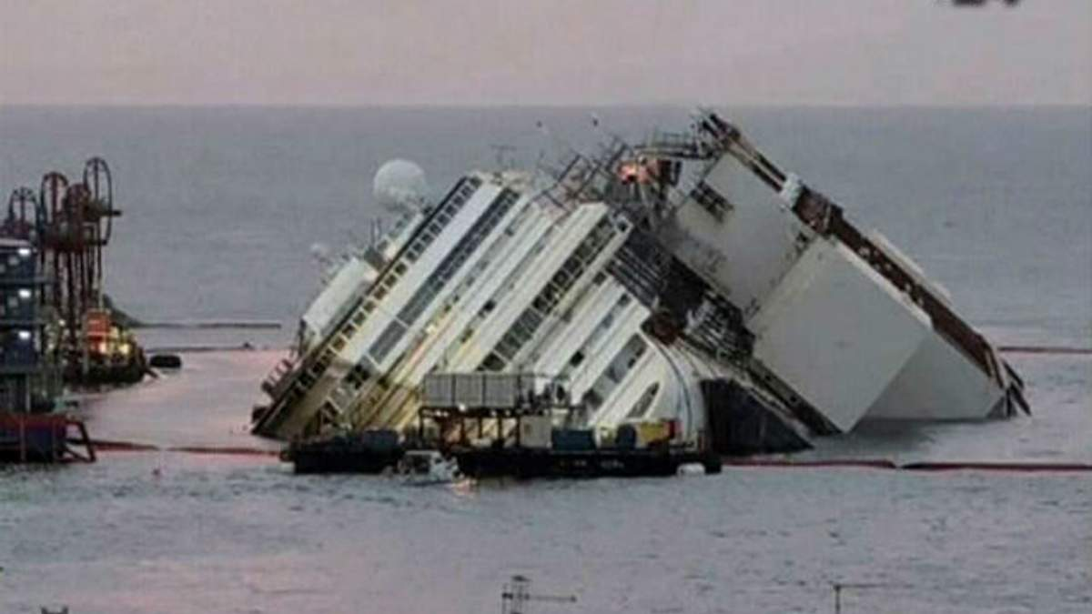 13 января - гибель Costa Concordia