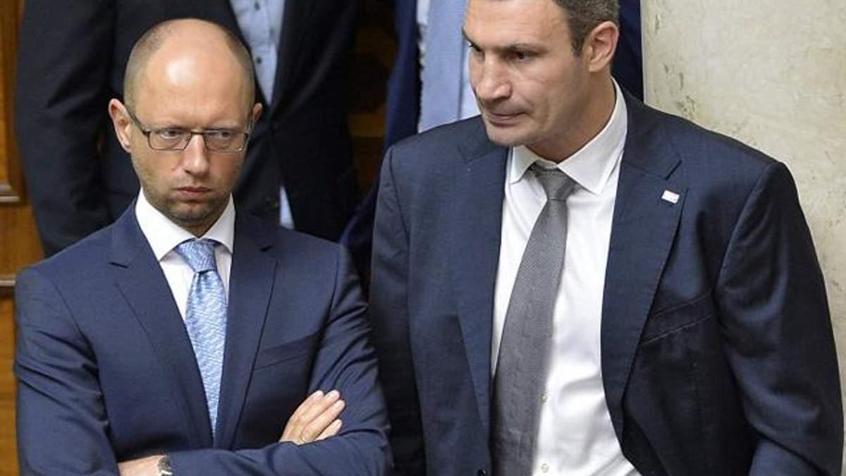 В опозиції конфлікт, за Яценюка - американці, а Кличко - протеже німців та ЄС, — регіонал