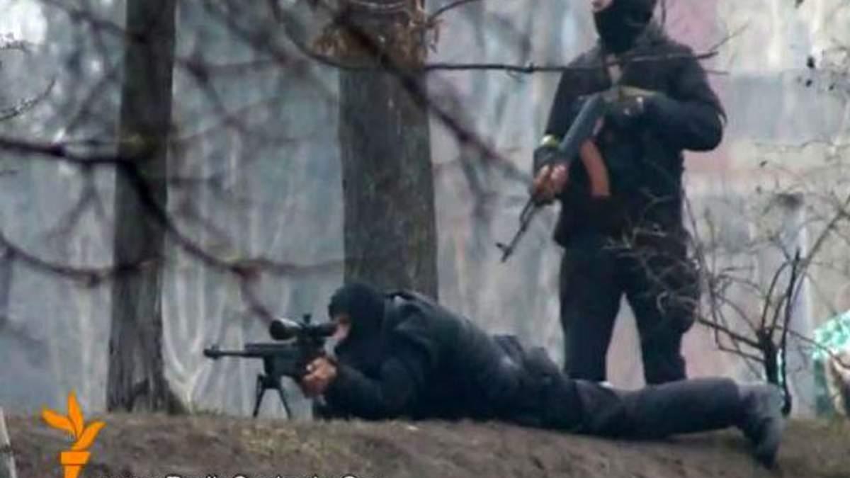 Переговори убивць? З'явився ймовірний запис розмов снайперів на Майдані