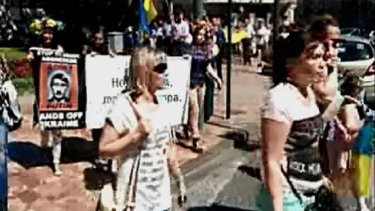 Українці у Валенсії підтримали цілісність України (Відео)