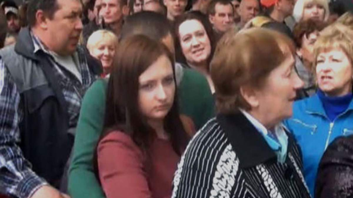 """У Москві голосували за """"Донецьку республіку"""" (Відео)"""