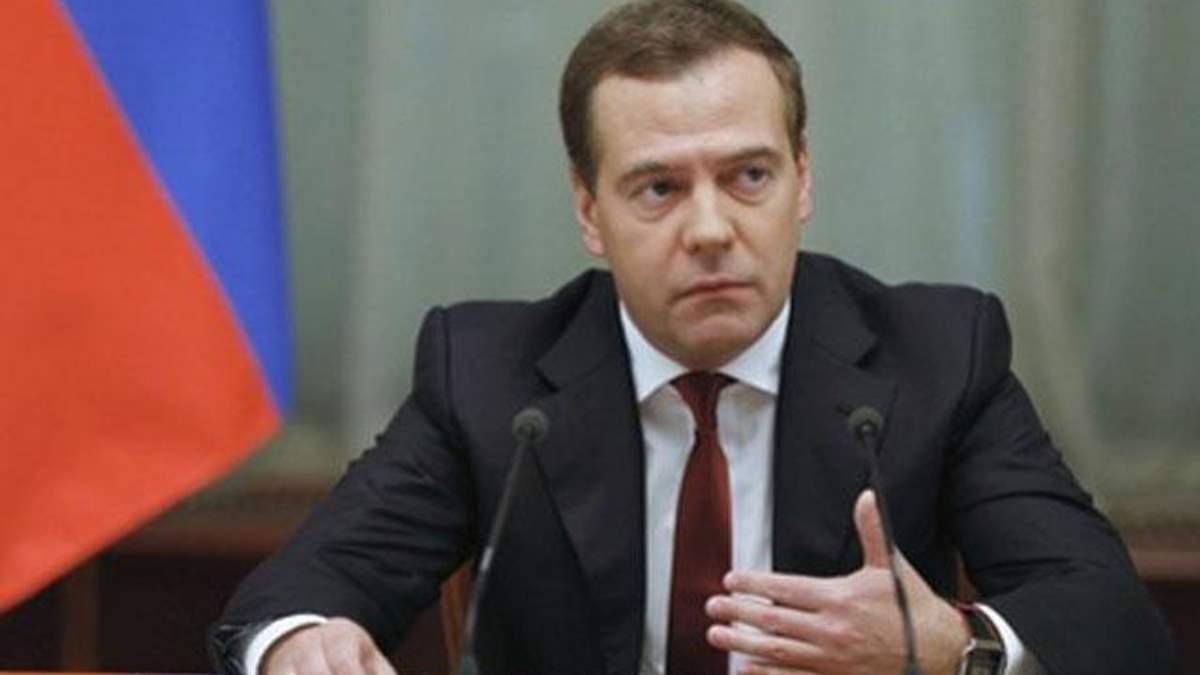 Росія готова обговорити ціну на газ, якщо Україна сплатить частину боргу, — Медведєв