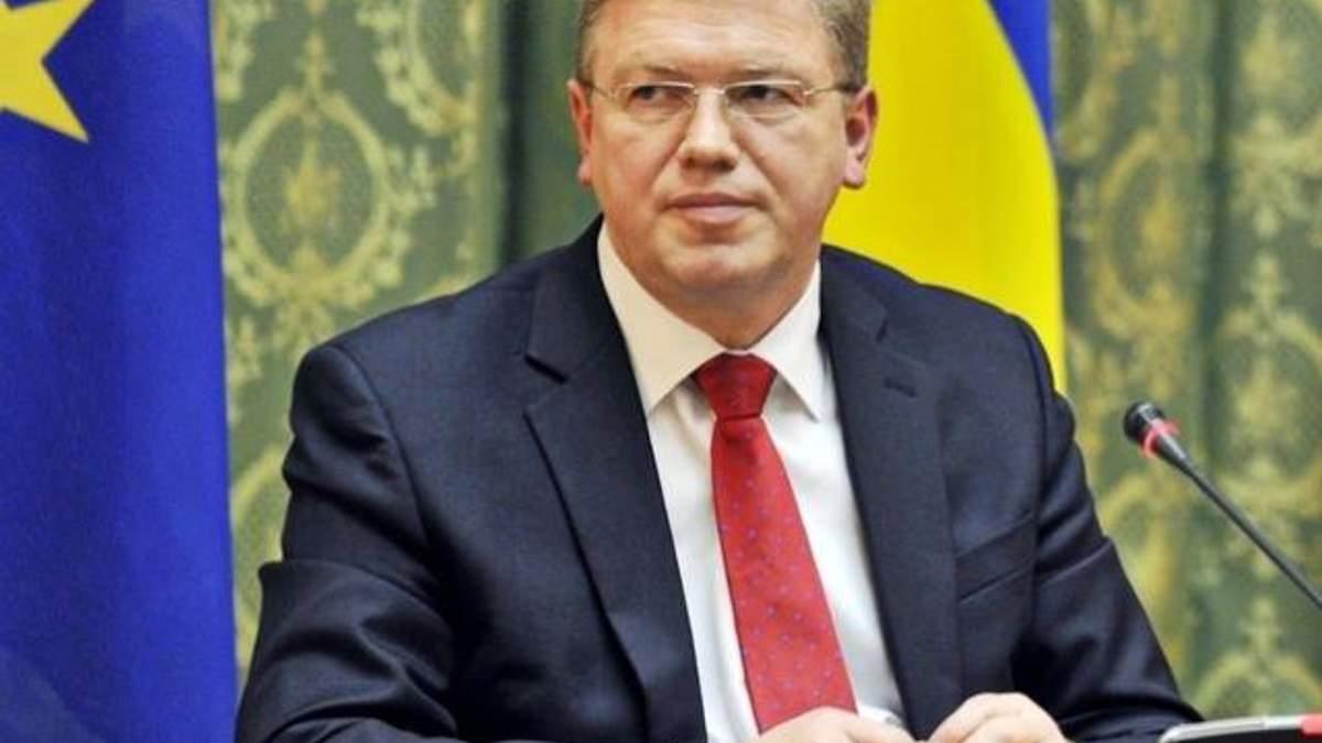 Фюле предлагает принять в Евросоюз Украину, Молдову и Грузию