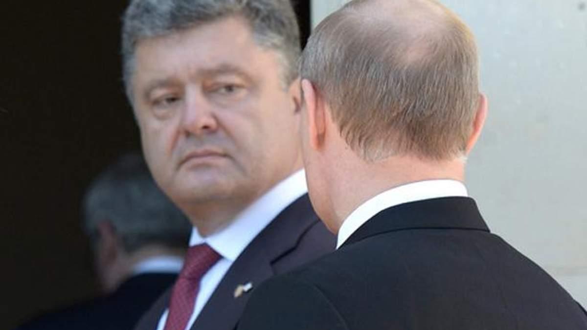 Порошенко поздравил Путина с Днем России, – Песков