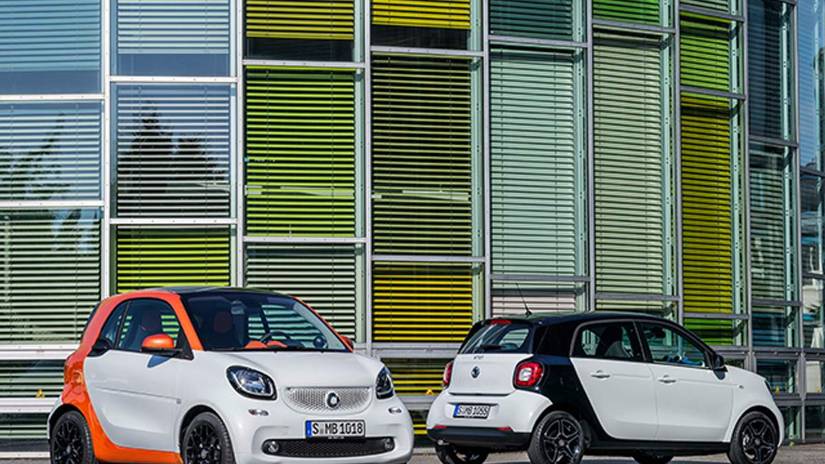 Smart ForTwo и Smart ForFour