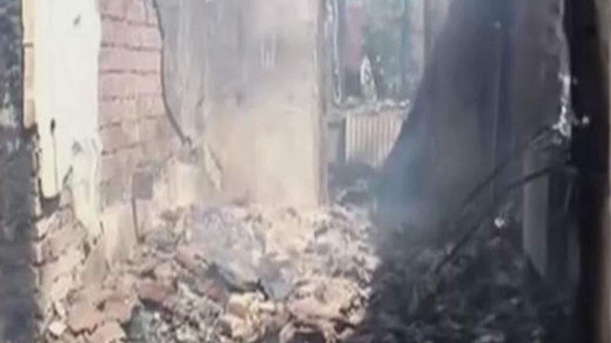 """Бойовики з установок """"Град"""" хаотично обстрілюють житлові квартали Горлівки (Відео)"""