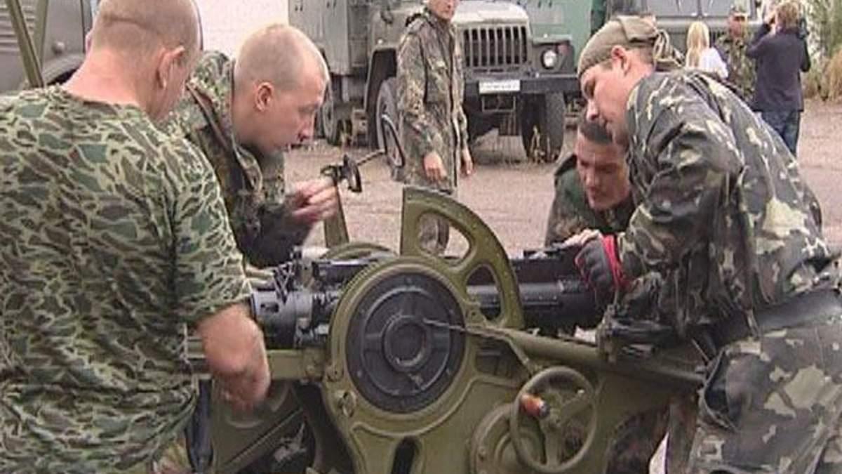 22-ий Харківський батальйон отримав зенітну установку 1952 року
