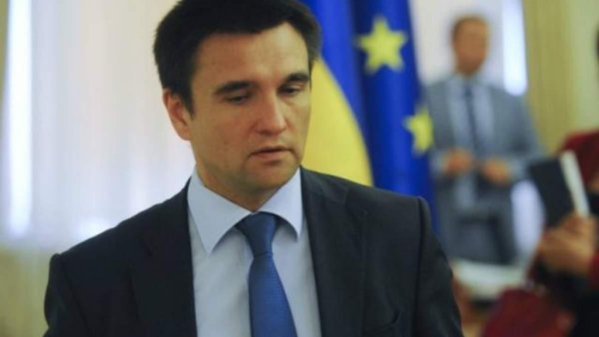 ЄС може застосувати інформаційні санкції щодо Росії, — Клімкін
