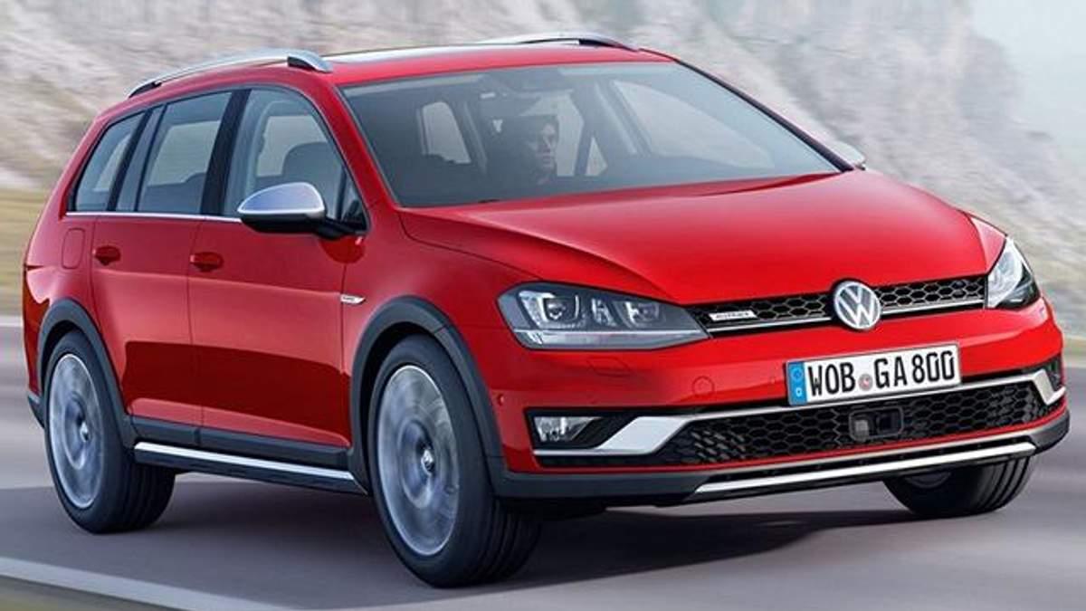 Volkswagen представив вседорожній універсал Golf Alltrack
