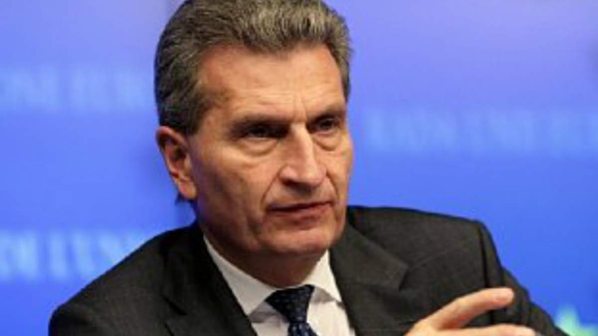 """Україна повинна сплатити 2 млрд доларів """"Газпрому"""" до кінця жовтня, — Оттінгер"""