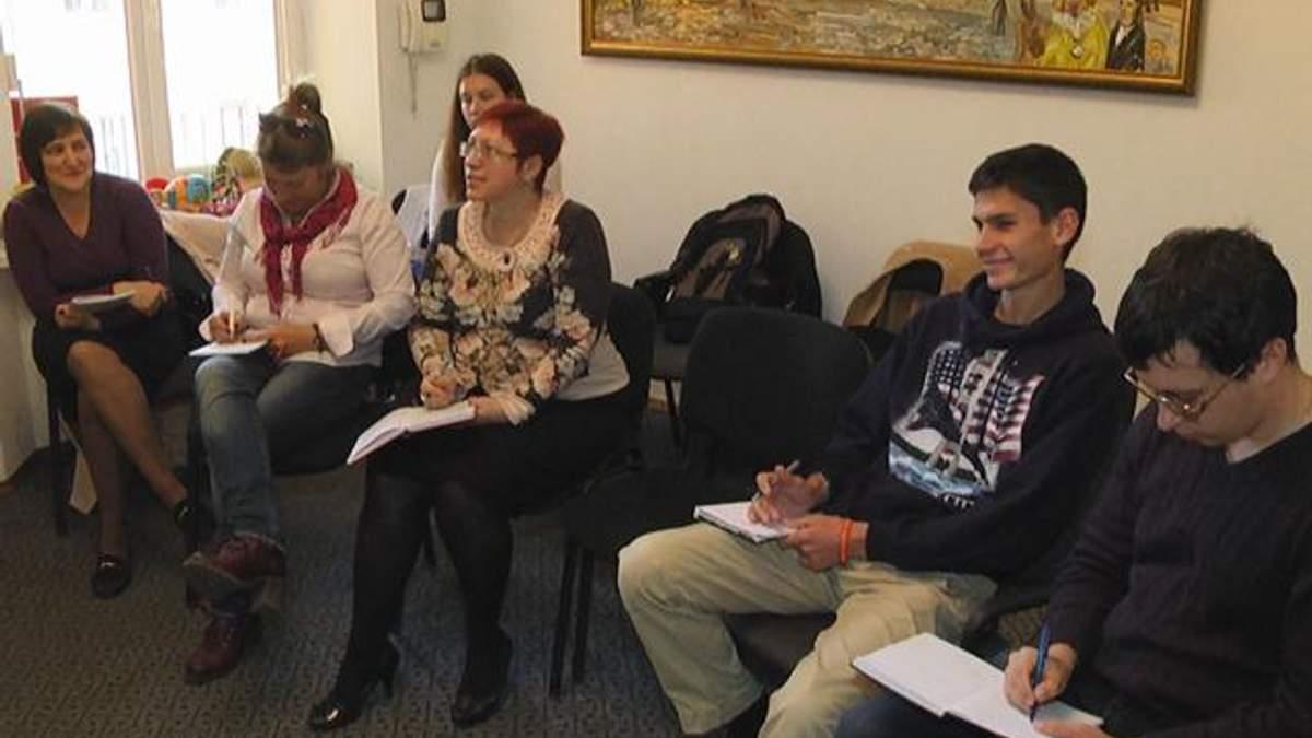 У Львові проводять уроки мови для переселенців (Відео)