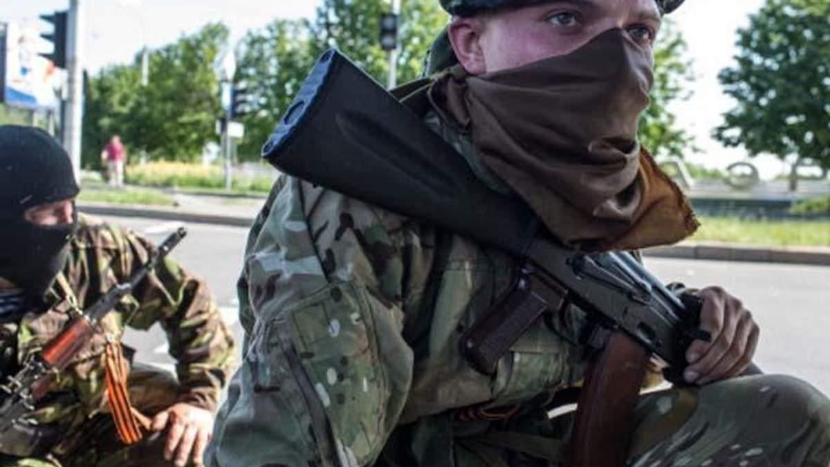 В Луганской области боевики с танками штурмовали блокпост нацгвардейцев