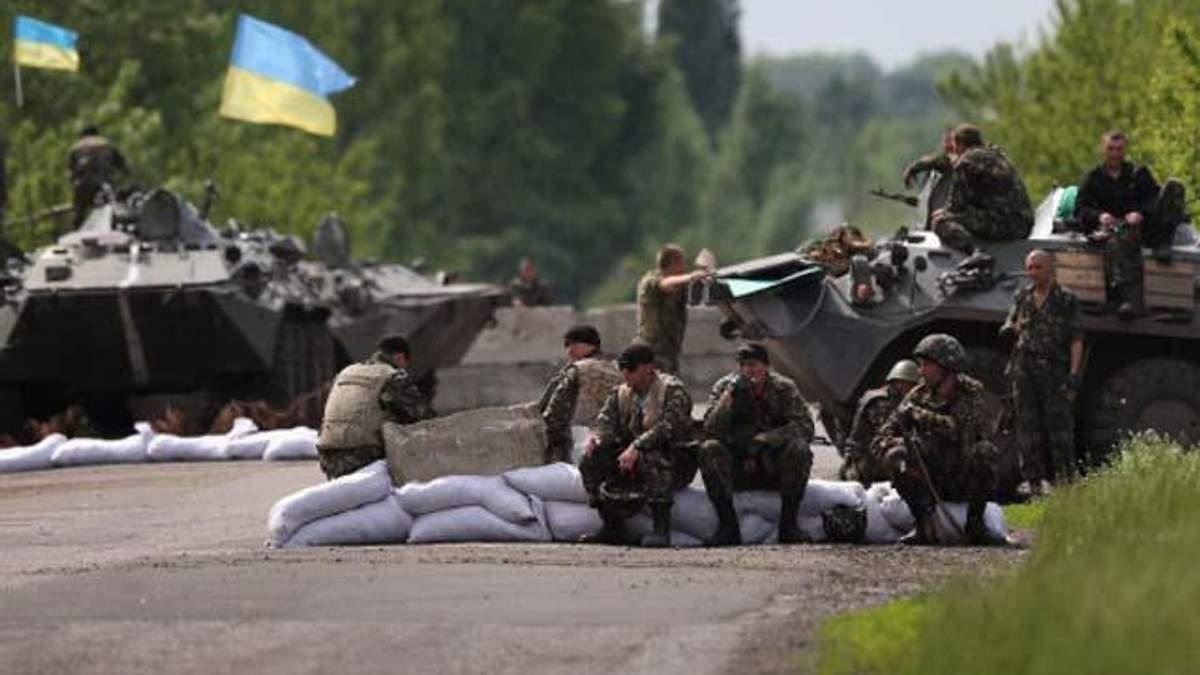 За минулу добу втрат серед українських військових немає, — РНБО