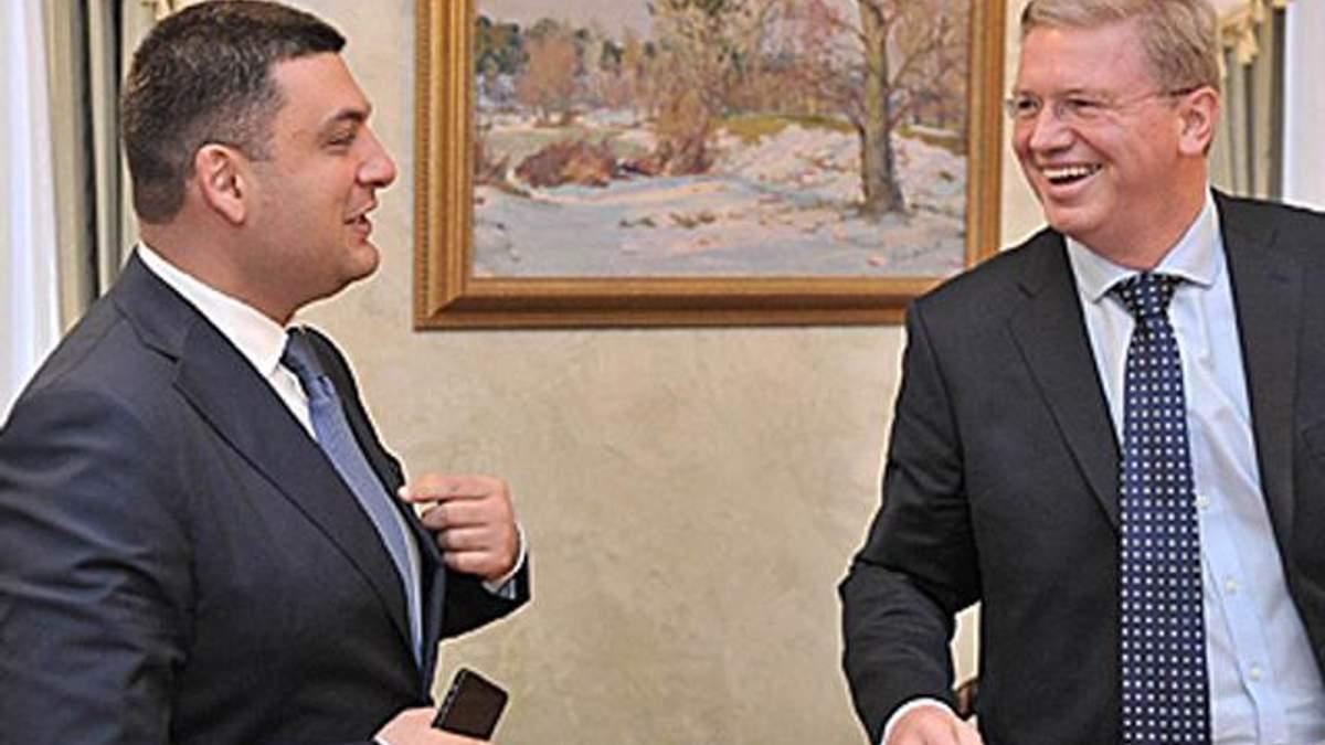 Гройсман обговорив з Фюле деталі імплементації Угоди про асоціацію