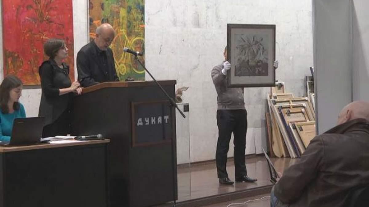 Українські художники продають картини аби допомогти постраждалим бійцям