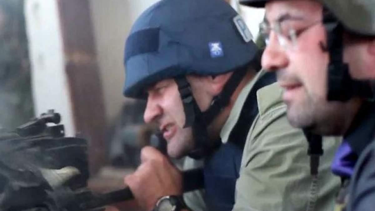 Российский актер Пореченков обстрелял украинских бойцов в донецком аэропорту