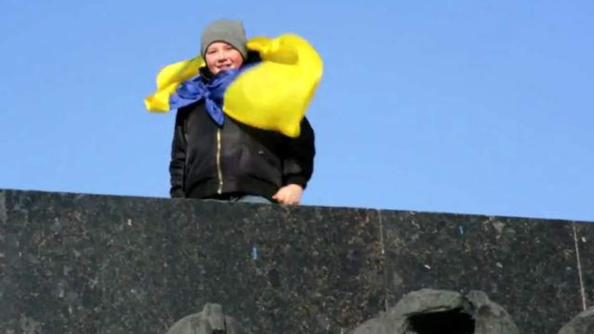 Площадь свергнутого Ленина
