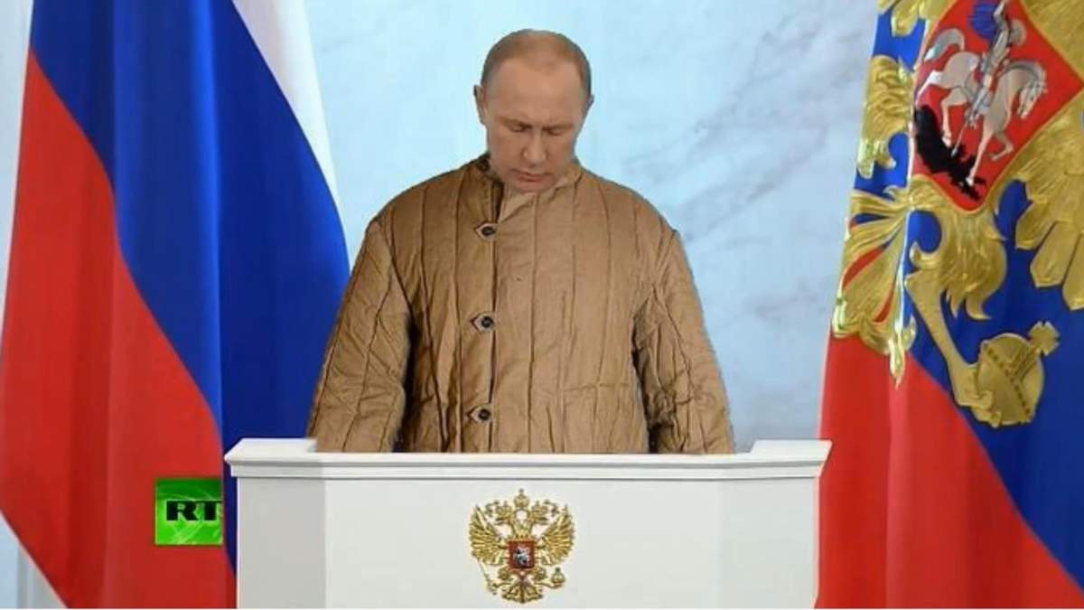 Реакция интернет-сообщества на речь Путина