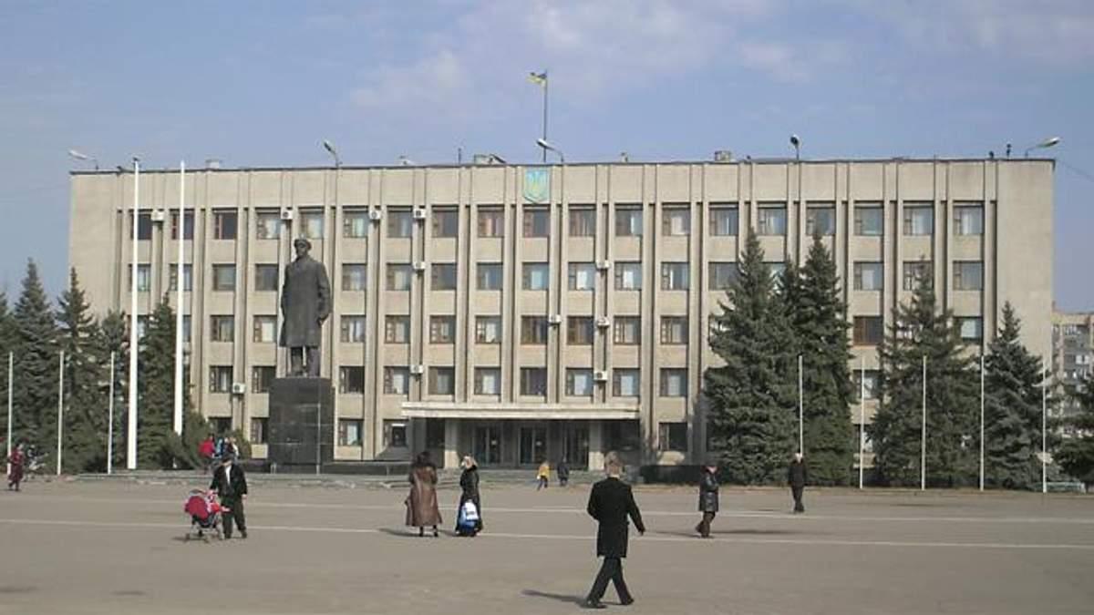 Пам'ятник Леніну в Слов'янську