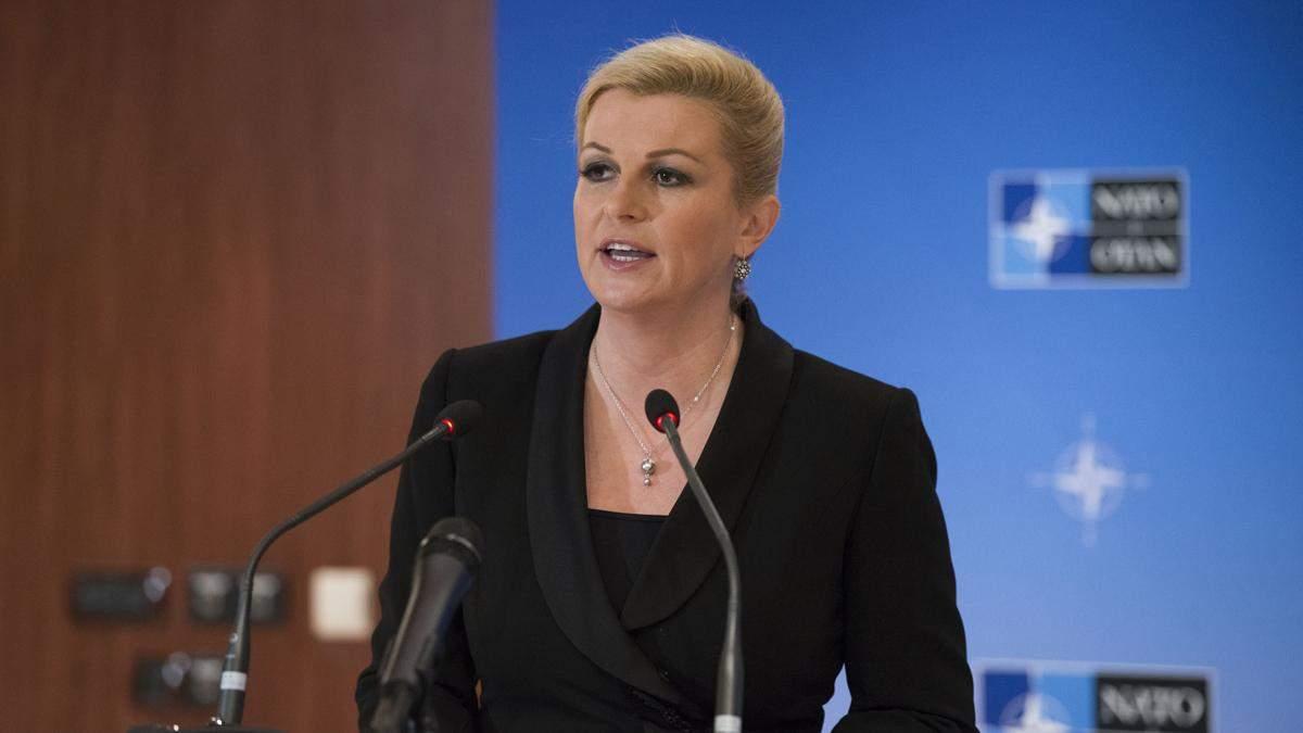 Впервые в истории президентом Хорватии стала женщина