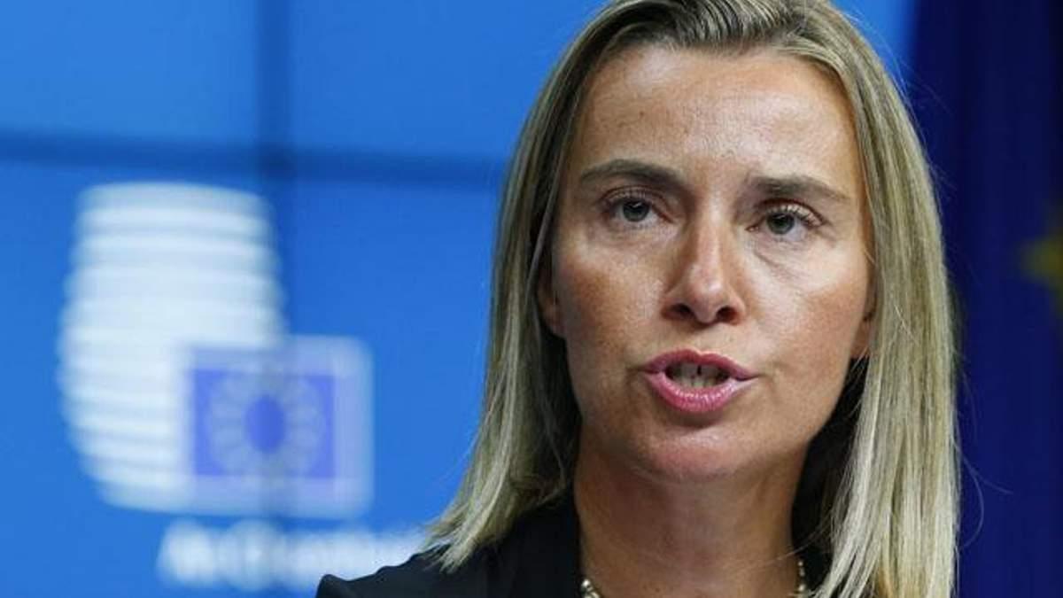 Могеріні анонсувала позачергове засідання Ради ЄС через обстріл Маріуполя