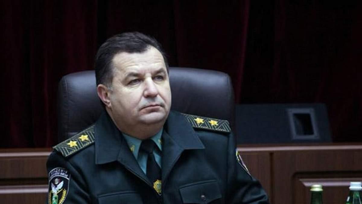 В Украине нет ограничений относительно выезда военнообязанных за границу, — Полторак