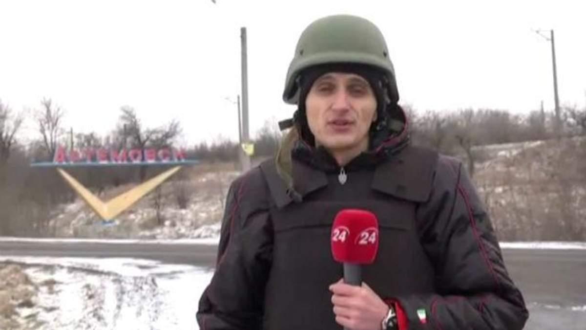"""Військові утримують позиції у Дебальцевому і контролюють """"дорогу життя"""""""