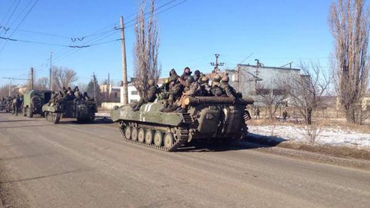 Українські військові прориваються з Дебальцевого невеликими групами, — джерело