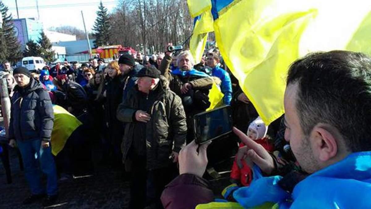 В Харькове — теракт на митинге за единство Украины. Есть погибшие