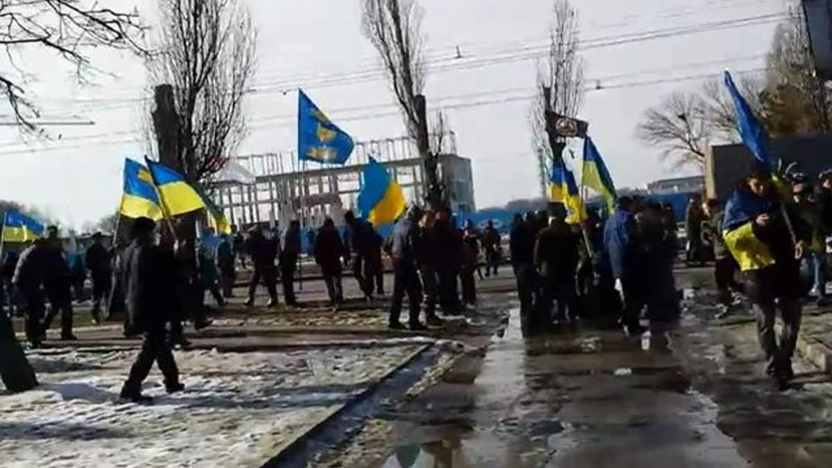 Появилось видео теракта в Харькове (18+)
